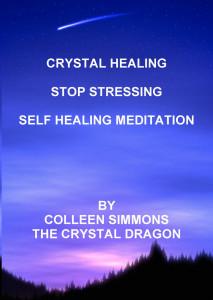 crystal healing stop stressing hypnosis meditation